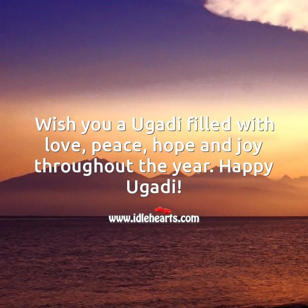 Ugadi Messages