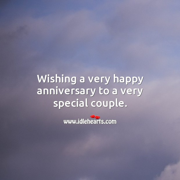Image, Wishing a very happy anniversary to a very special couple.