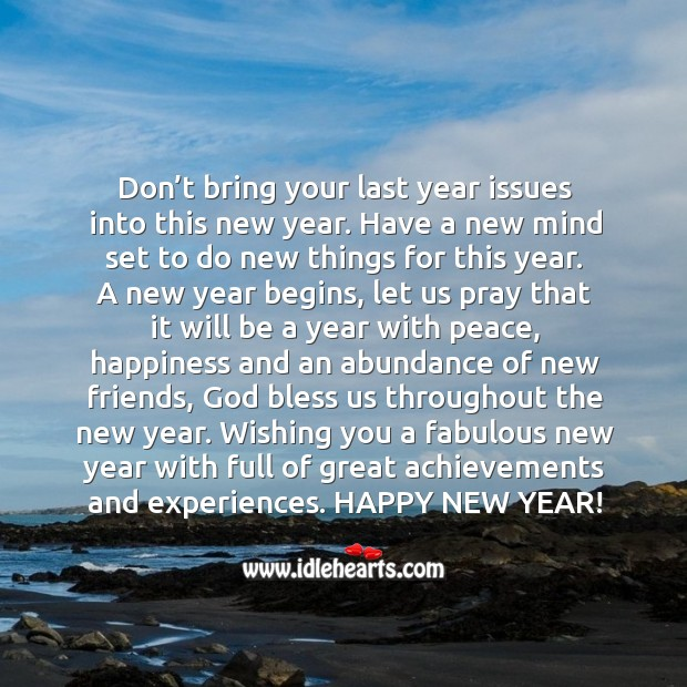 Image, Wishing you a fabulous and happy new year!