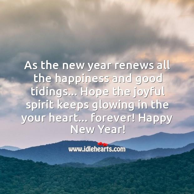 Image, Wishing you a joyful new year!