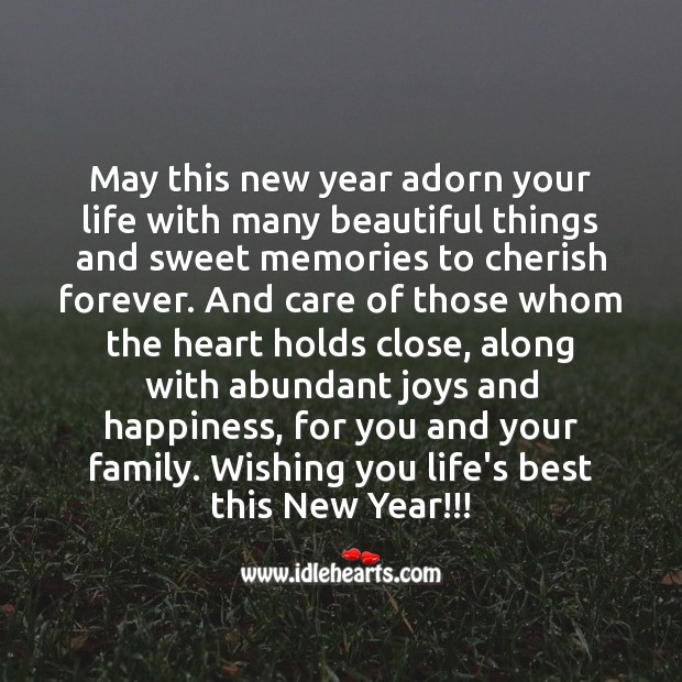 Image, Wishing you life's best this new year!!!