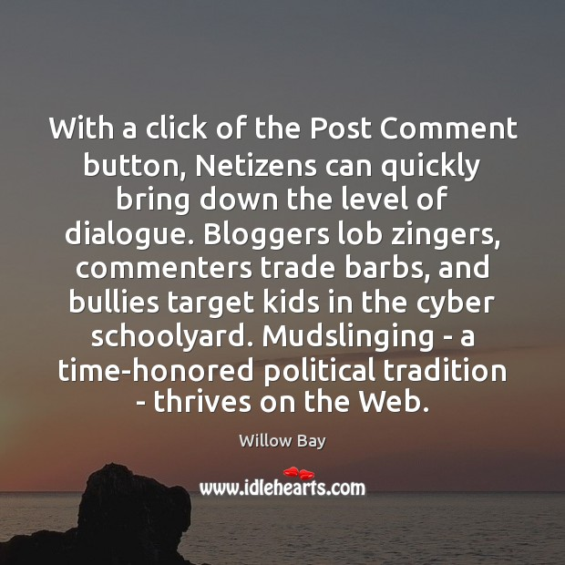 Image, With a click of the Post Comment button, Netizens can quickly bring