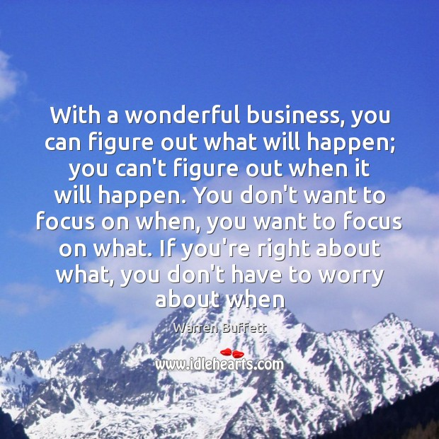 Image about With a wonderful business, you can figure out what will happen; you
