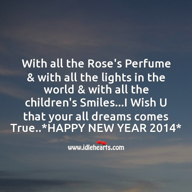 With all the rose's perfume Image