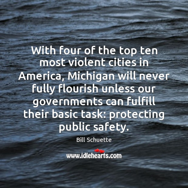 Image, With four of the top ten most violent cities in America, Michigan