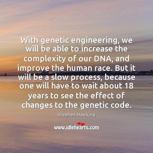 the effects of genetic engineering on