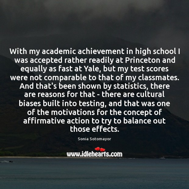 Image, With my academic achievement in high school I was accepted rather readily