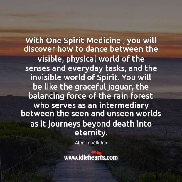 Image, With One Spirit Medicine , you will discover how to dance between the