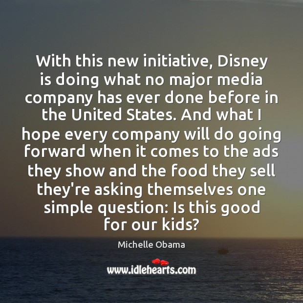 Image, With this new initiative, Disney is doing what no major media company