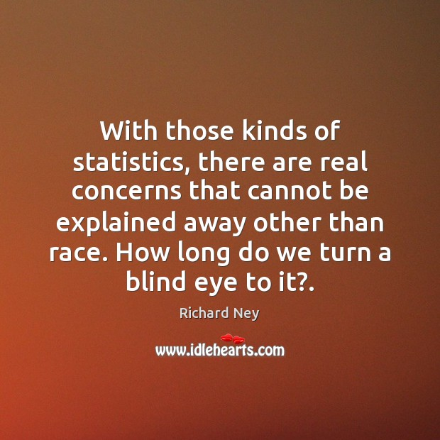 With those kinds of statistics, there are real concerns that cannot be Image