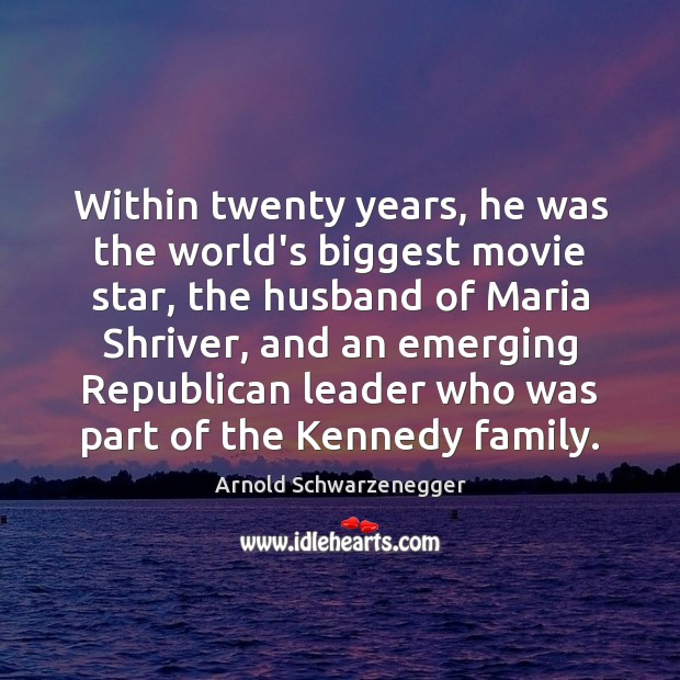 Image, Within twenty years, he was the world's biggest movie star, the husband