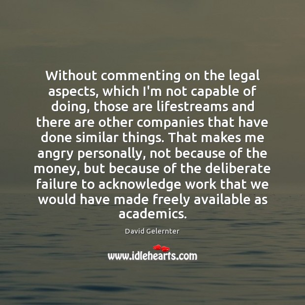 Without commenting on the legal aspects, which I'm not capable of doing, Image