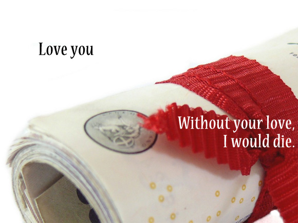 Without your love, I would die Image
