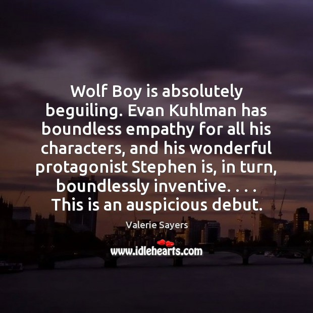 Wolf Boy is absolutely beguiling. Evan Kuhlman has boundless empathy for all Image