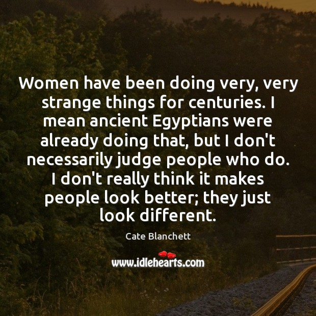 Picture Quote by Cate Blanchett