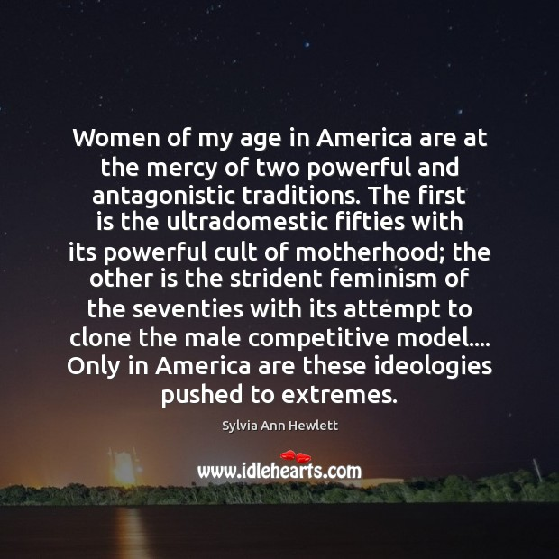Women of my age in America are at the mercy of two Image