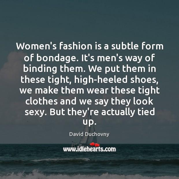 Putting men in bondage women Category:Women wearing