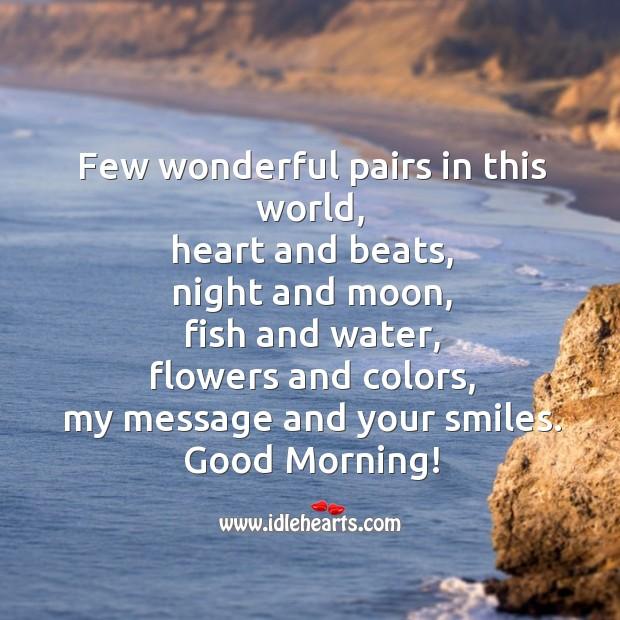 Wonderful pairs in this world Image