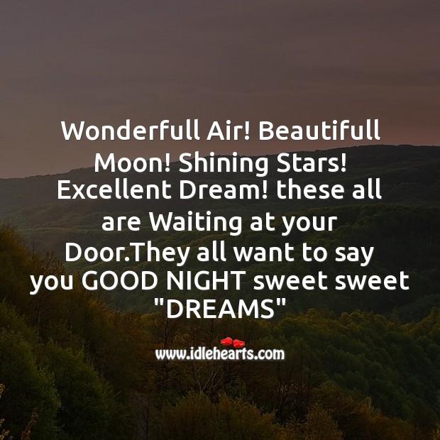 Wonderfull air! beautifull moon! Image