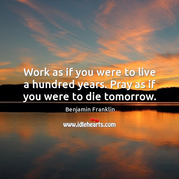 Picture Quote by Benjamin Franklin