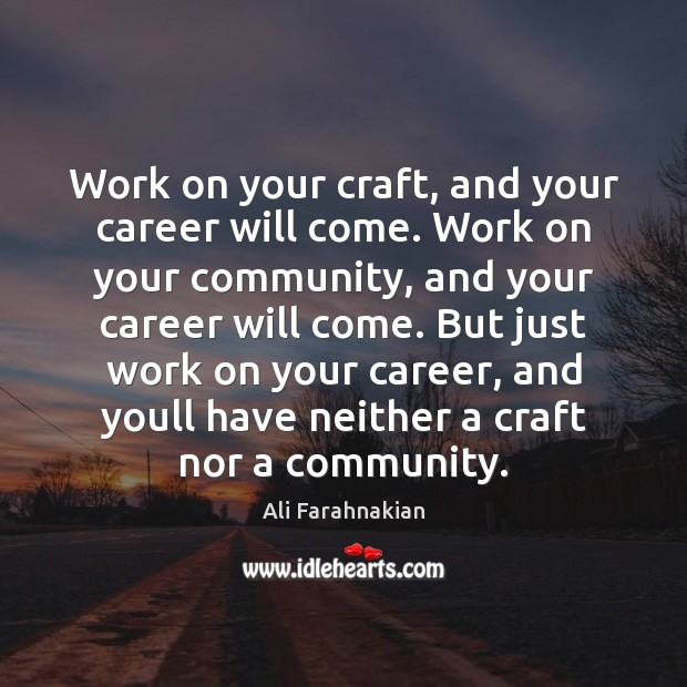 Picture Quote by Ali Farahnakian