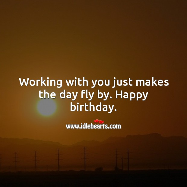 Birthday Messages for Colleagues