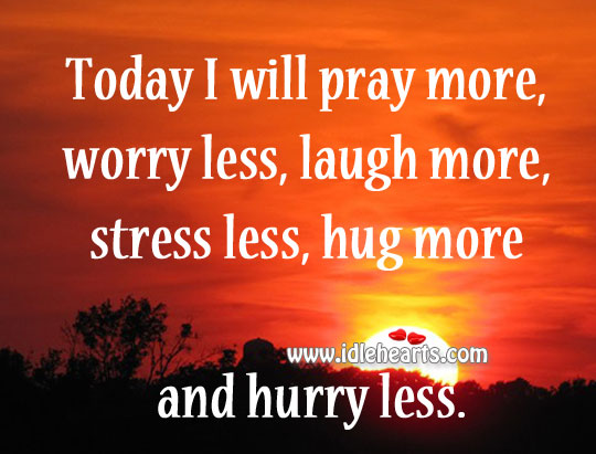 Laugh More Stress Less