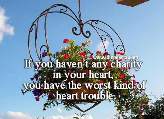 Image, The worst kind of heart trouble.