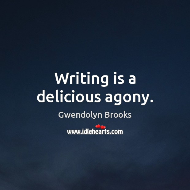 Picture Quote by Gwendolyn Brooks