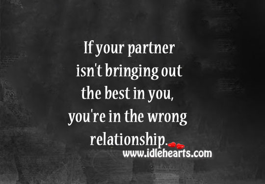 Partner Brings Out The Best In You