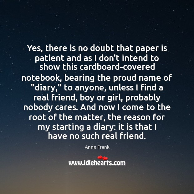 Yes, there is no doubt that paper is patient and as I Image