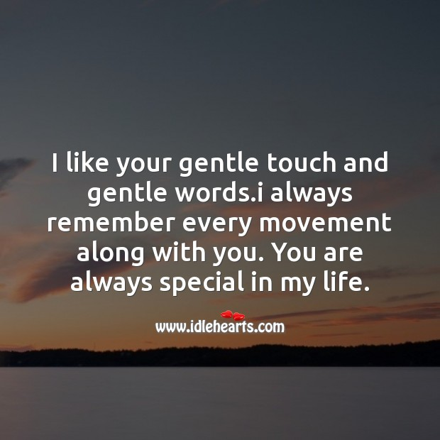 You are always special in my life. Image