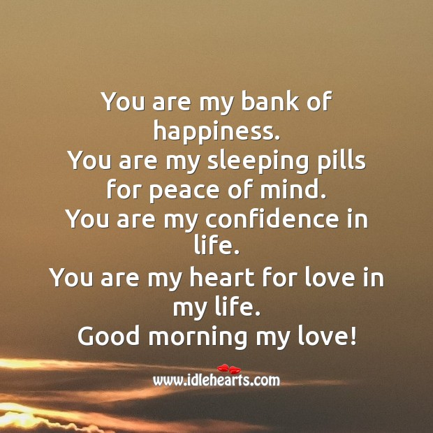 You are my confidence in life. Confidence Quotes Image