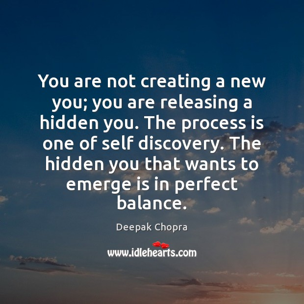You are not creating a new you; you are releasing a hidden Image