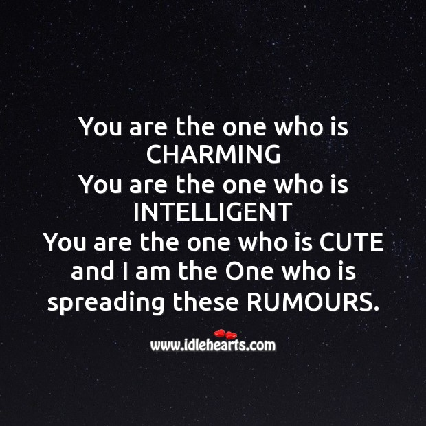 You are the one who is charming Fool's Day Messages Image