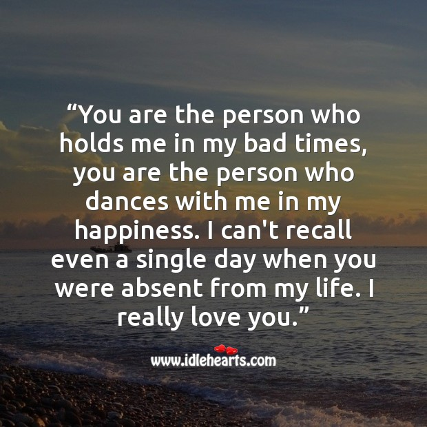 You are the person who holds me in my bad times Raksha Bandhan Messages Image