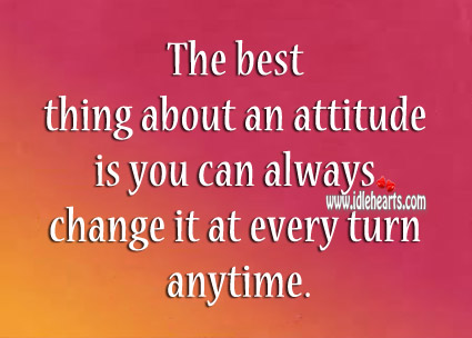 Best Thing About Attitude