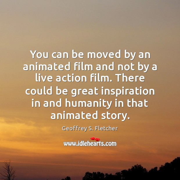 Image, You can be moved by an animated film and not by a