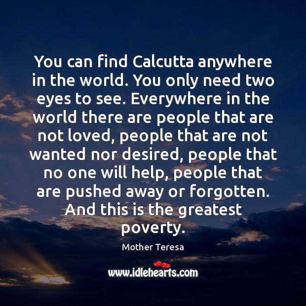 Image, You can find Calcutta anywhere in the world. You only need two