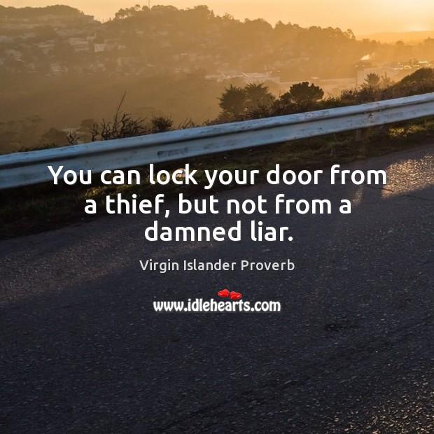 Virgin Islander Proverbs