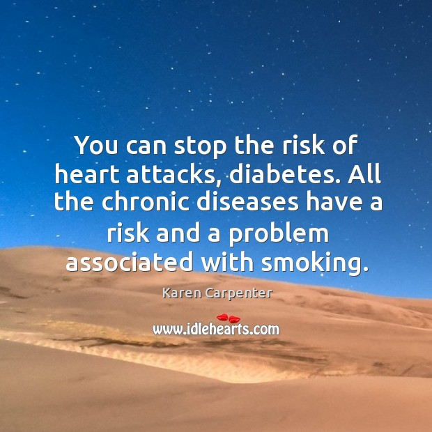 Image, You can stop the risk of heart attacks, diabetes. All the chronic diseases have a