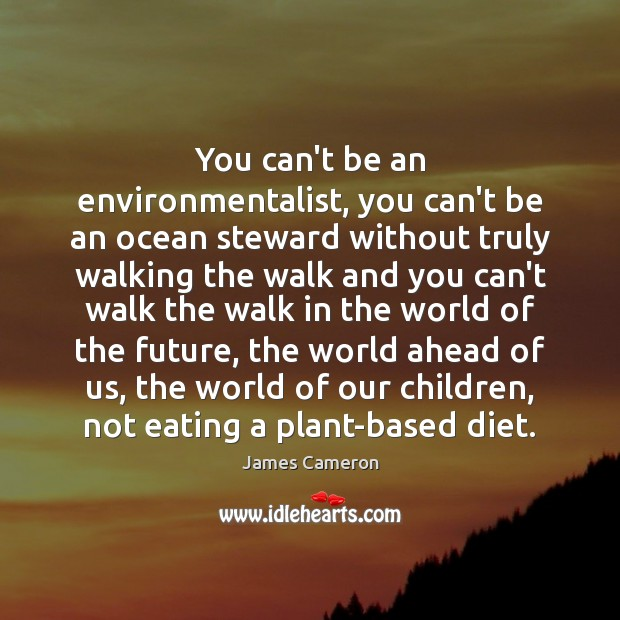 You can't be an environmentalist, you can't be an ocean steward without Image