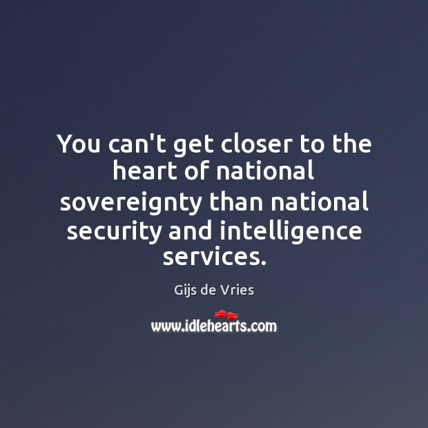 You can't get closer to the heart of national sovereignty than national Image