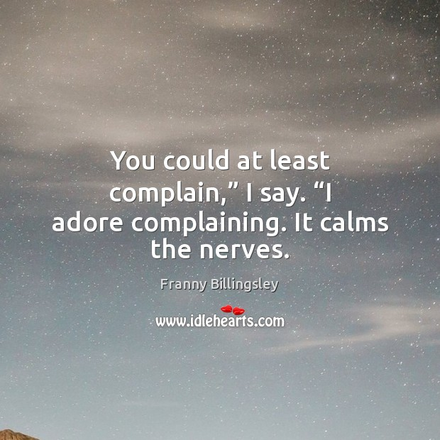 Complain Quotes Image