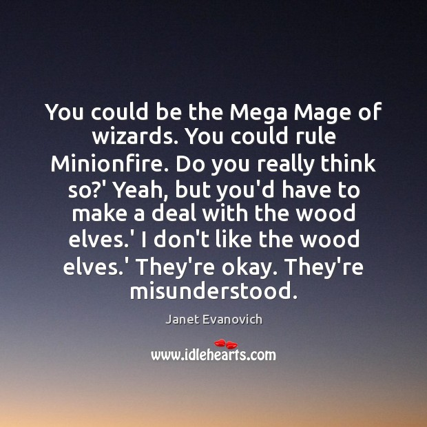 You could be the Mega Mage of wizards. You could rule Minionfire. Image