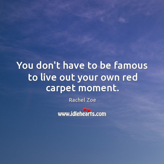 Image, You don't have to be famous to live out your own red carpet moment.