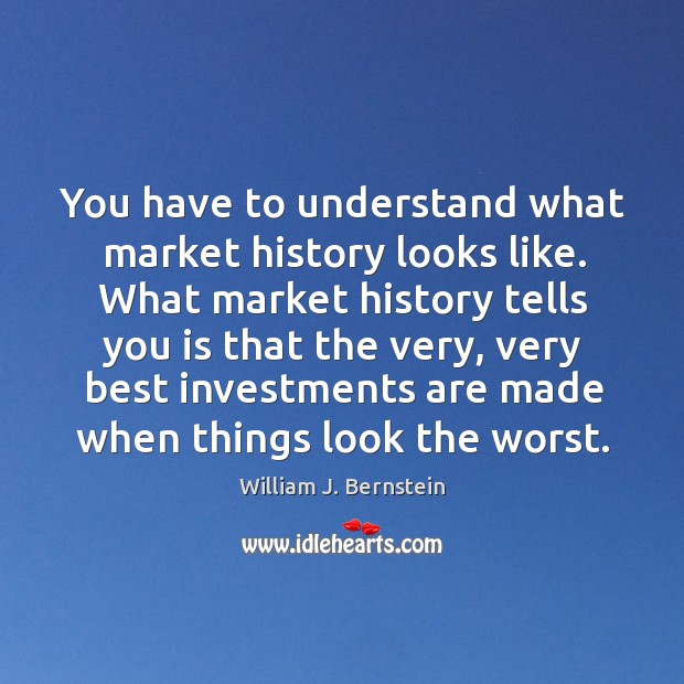 You have to understand what market history looks like. What market history Image