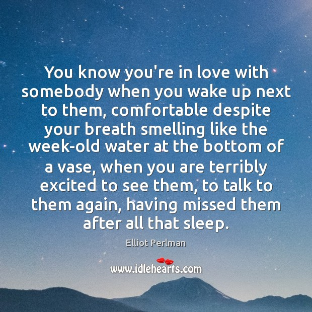 You Know You Re In Love When Quotes: Quotes About Wake Up / Picture Quotes And Images On Wake