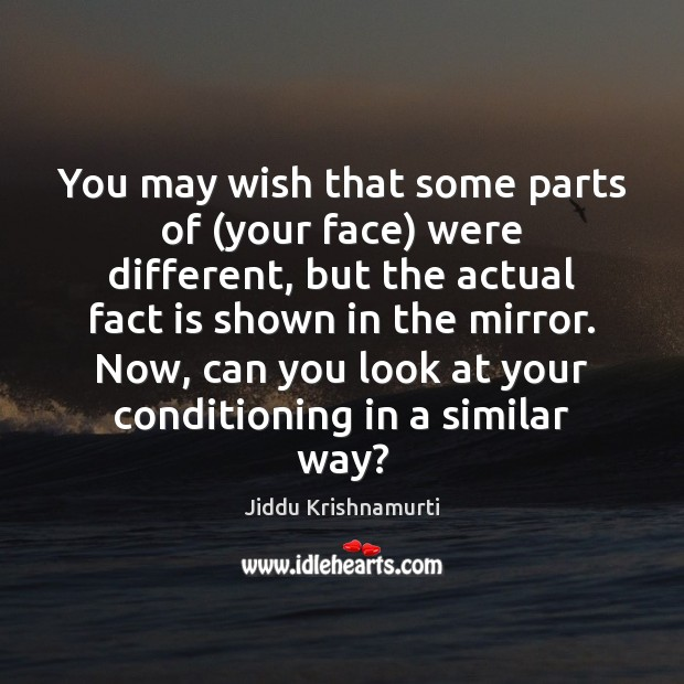 Image, You may wish that some parts of (your face) were different, but