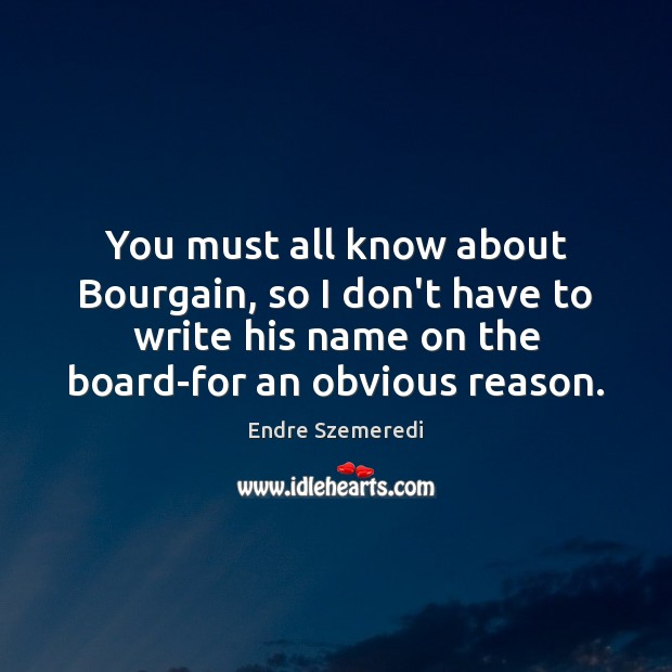 You must all know about Bourgain, so I don't have to write Image